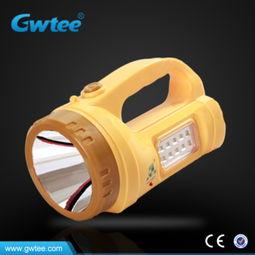 ...率手提式可充电LED探照灯手提灯