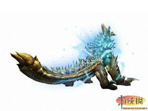 九色雷-雷狼龙   带着雷光现身也被称为