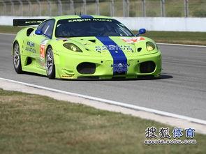 ...周六练习赛 绿赛车引人注目