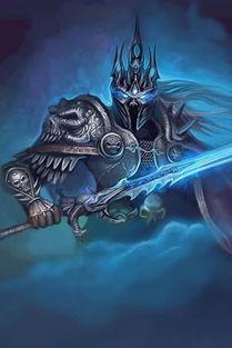 魔兽巫妖王阿尔萨斯之怒320x480壁纸下载