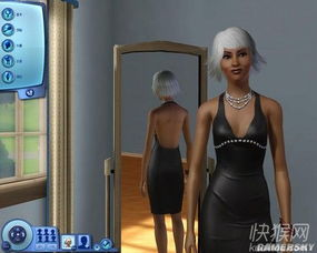 模拟人生3 MOD人物 黑妹之