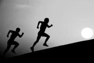 人生需要奔跑