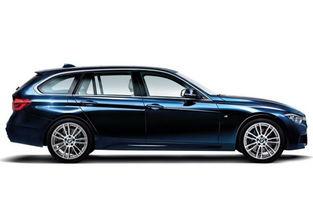 ...,新车基于新款3系旅行版打造而来,外观配M运动套件,并采用独特...