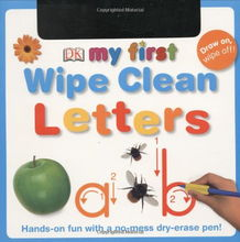 ... First Wipe Clean Letters