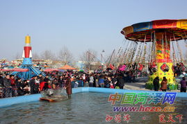 春节假期游乐场好热闹