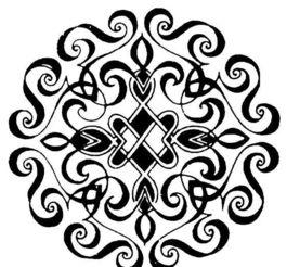 团花纹样 传统图案 0164图片设计素材 高清JPG模板下载 0.85MB ...