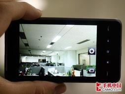 图为:HTC HD mini拍照界面-迷你旋风新视界 HTC HD mini首发评测