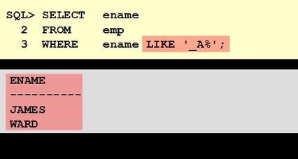 sql语句从小到大排序-...cle数据操纵语言 DML data manipulation language
