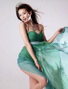 ...华人女明星胸部形状最美 组图