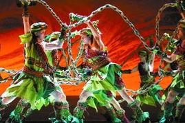 总政歌剧团《太阳雪》   中央歌剧院《霸王别姬》(新华社提供)   安...