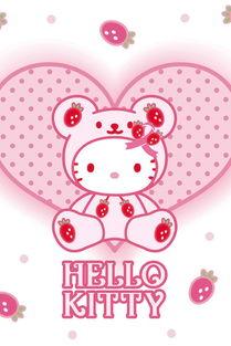 可爱卡通猫Hello Kitty高清手机壁纸第二辑