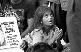 印度遭强奸5岁女童被遗弃 警察不作为引民愤