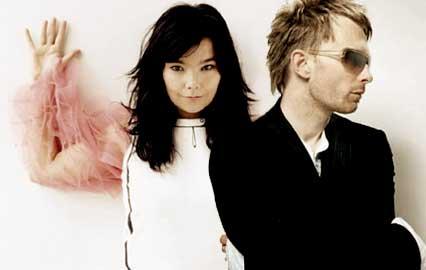 邪恶gif出处-Bjork与Thom Yorke或有新歌合作