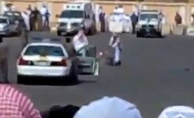巫刑天下-据外电31日报道,一名苏丹籍男子在沙特阿拉伯惨遭斩首的视频录像近...