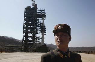 间谍卫星偷拍朝鲜火箭发射场