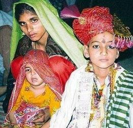 ...管印度法律规定女孩只有到了18岁才能结婚,然而童婚现象在印度许...