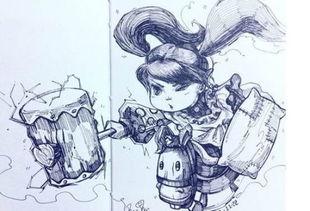 虽然是一名萌萌哒约德尔人,但身为使锤的英雄,怎么可能弱了锤爹李...