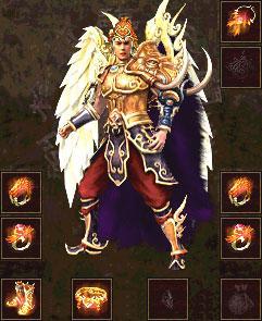 传奇世界战神,魔神,道神套装属性