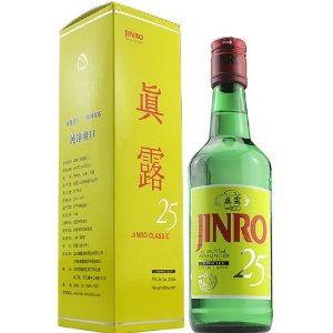 韩国进口真露烧酒25度375ml