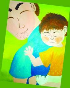 ...护孩子追求美 温暖 亲情的心