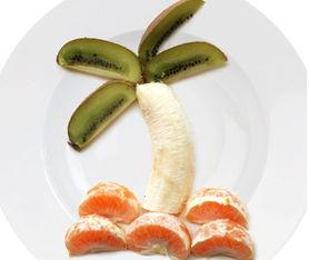 创意 的 水果动物拼盘 妈妈厨房论坛