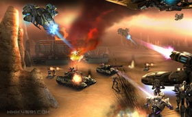 天源4591 游戏特色 操纵各种战斗机器人