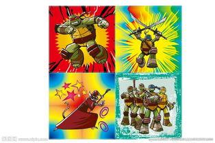 忍者神龟 卡通人图片