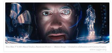 钢铁侠面具内置界面UI