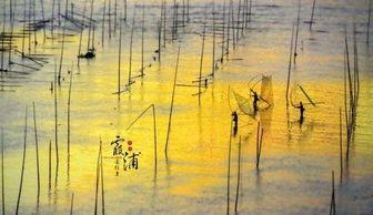 晃动,晚上渔火明灭,结串成帮的船齐聚港湾,构成霞浦沿海一道奇特...