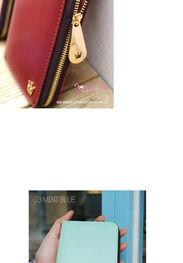 2014手机包皇冠钱包新款韩版中长款拉链钱包苹果iPhone4手机包
