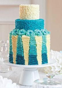 生日蛋糕是怎样怎出来的