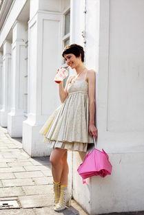街拍大片 法国街头人人都是时尚高手