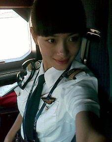 最美女机长年仅29岁天分高 执飞A321机型 7