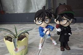 淘宝网购买的名侦探柯南的手办塑胶玩偶,质量真的不错 比购网,我...