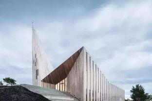仍被运用于现代教堂建筑中.享誉盛名的Knarvik社区教堂即是一座全...