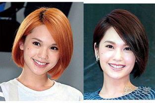 的肤色是健康的亚洲黄,如果发色选择同样色调,完全凸显不出面部的...