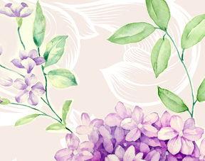 ...式手绘玫瑰花卉花藤复古背景墙墙纸图片素材 psd效果图下载 手绘电...