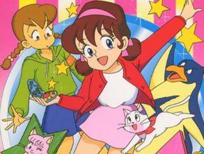 上世纪日本的动漫 魔法使莎莉 暴露年龄