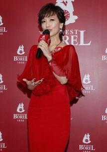 赵雅芝红裙和陈慧琳比嫩 身材纤细被赞完美女神 图