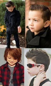 小型男发型推荐-阿拉蕾引领萌娃发型潮流 教你变身时尚小ICON