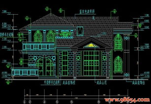 17.1x13.8 235.9O首层面积235平方米二层别墅设计图下载 别墅图纸