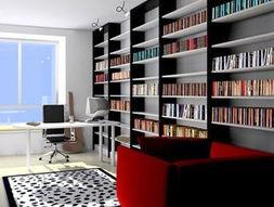 分分彩三星组三复式-书房作为工作、阅读、学习的空间,其设计以功能性为主.在其装修中...