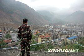 ...城.北川县城是汶川大地震的重灾区,从5月20日开始封城.记者于6...