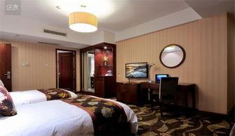 宁波江北区人民路酒店式公寓 宁波江花宾馆高级双床房