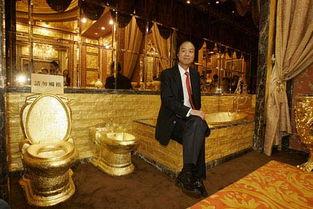 考古部】恋老农村老头-香港企业家6吨黄金打造黄金皇宫