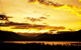 如何用图片制作短片特效夕阳效果