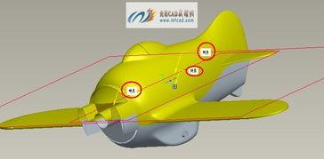 玩具飞机装配设计