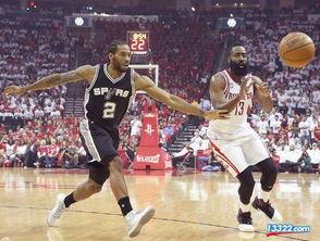 NBA直播 火箭VS马刺