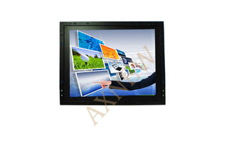 12.1 inch Slim Industrial LCD Touch Screen Monitor For Advertising