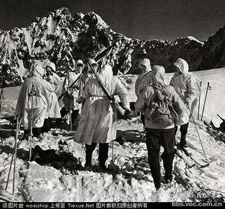 二战德国山地部队经典照片